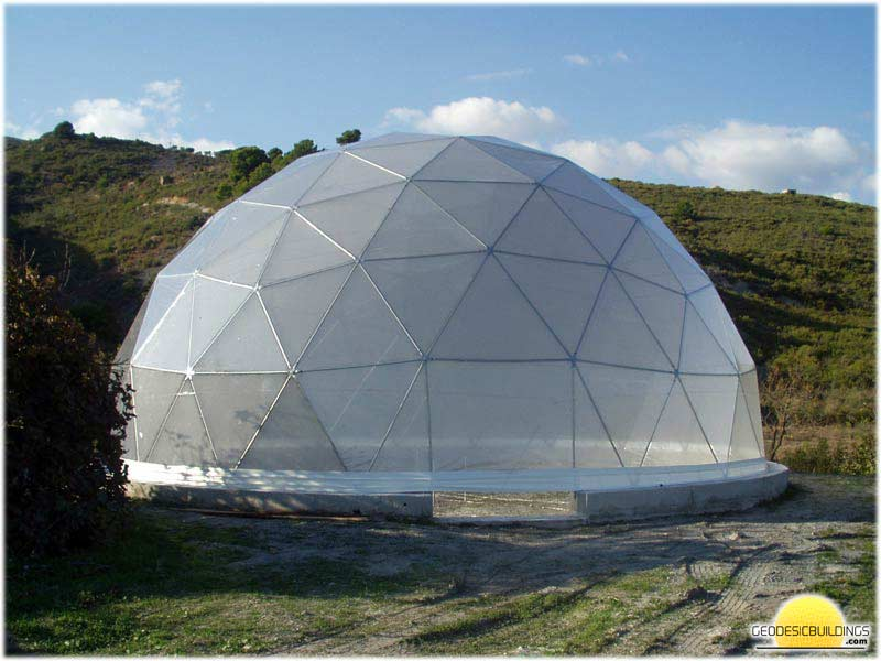 Geodesic Dome with PVC cover